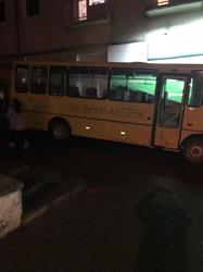 Автобуси, якими звезли людей