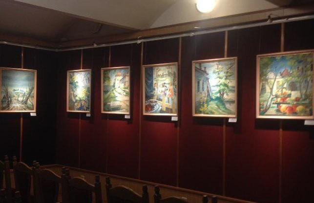 У Львові відкрилась виставка картин Миколи Горди.