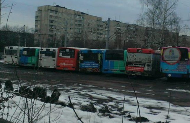 У Львові не виїжджають на маршрути 30% автобусів