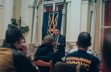 """Національний Корпус організував лекцію на тему """"Феномен ОУН"""""""