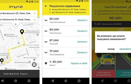 Львівські студенти створили додаток для порівняння цін на послуги таксі
