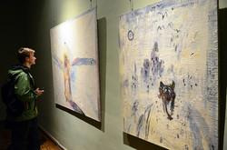 У Львові відкрилась ретроспективна виставка Мирослава Ягоди (ФОТО)