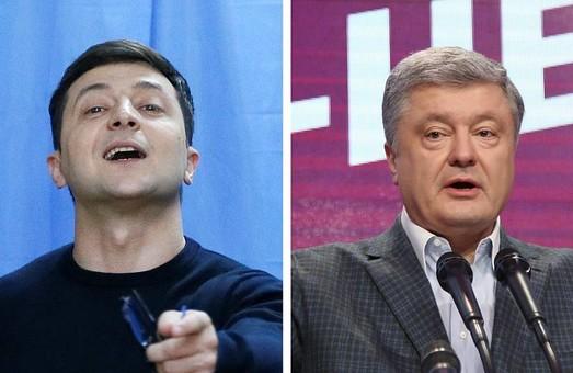 Чиїх виборців підберуть Зеленський і Порошенко у другому турі: інфографіка