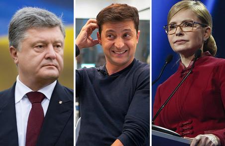 Тимошенко перемогла на виборах у Качанівській колонії, Порошенко – в Антарктиді, а Зеленський – в ООС