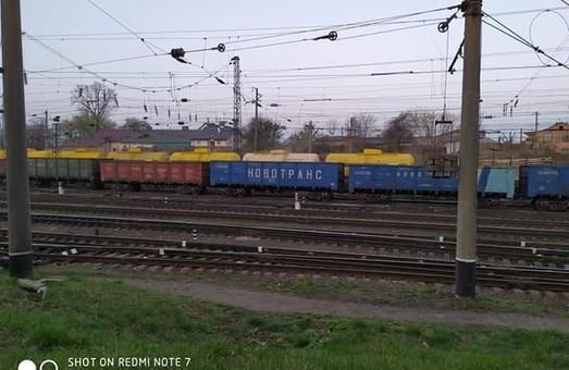У Львові на стоянку зупиняються російські вантажні потяги(ФОТО)
