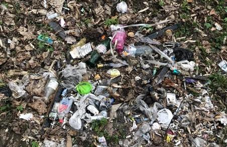У ще одному львівському парку створили сміттєзвалище
