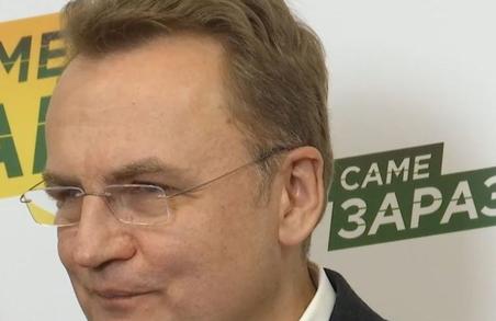 Садовий пообіцяв Зеленському підтримку у Раді, повагу львів'ян та розуміння українців