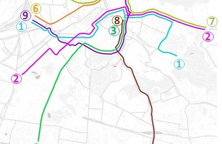 Львівські трамваї докорінно змінять схему руху