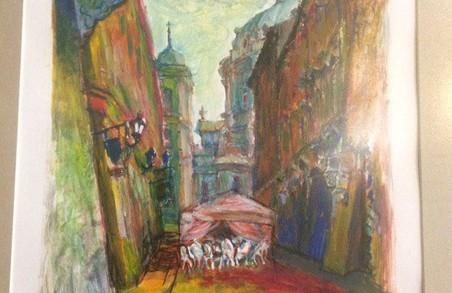 У Львові у кав'ярні «Штука» відбувається виставка «Фантасмагорії казкового Львова»