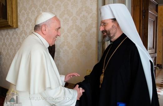 Папа Римський запросив голову УГКЦ на зустріч щодо майбутнього України
