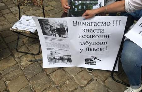 У Львові містяни вимагатимуть у Садового припинити забудову міста на акції протесту