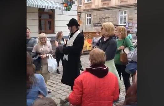 Кримський екскурсовод-біженець у Львові знущався з євреїв під час екскурсії