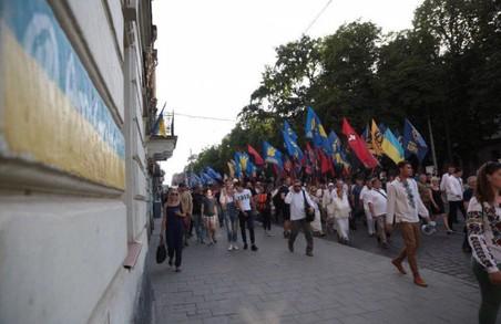 Андрій Білецький про Марш Тисячоліття України у Львові