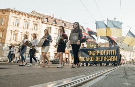 У Львові відбувся грандіозний Марш за участі Національного Корпусу