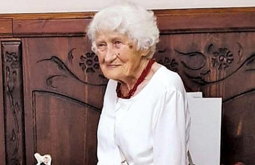 Член ОУН Ірина Шуль відсвяткувала у Львові 101 день народження