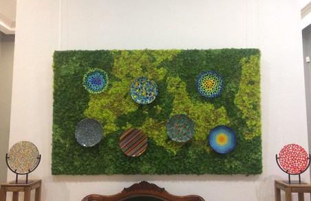 Завершилася виставка робіт Ольги Турянської у галереї сучасного мистецтва «Зелена Канапа»