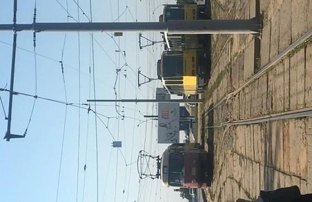 У Львові не працює лінія трамваю номер 3