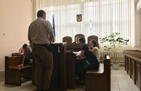 """Учора відбулось чергове судове засідання у політичній справі проти активіста Національного Корпусу друга """"Макара""""."""