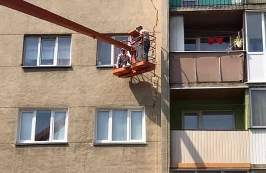 У Дрогобичі тріснув ще один будинок