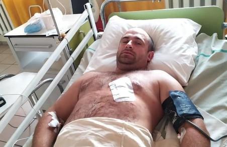 Львівський поліцейський проявив героїзм у затриманні зеків –втікачів, які поранили його під час затримання