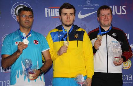 Львів'янин став чемпіоном Європи зі стрільби