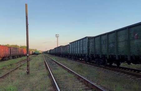 На Львівщині активісти, що блокують російські вагони, вступили у сутичку з поліцією