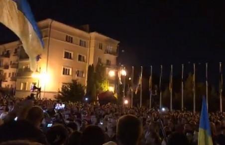 Окрім Львова, акція «Ні капітуляції!» пройшла багатьох містах України (Список, ФОТО)