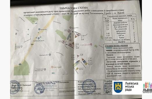 У Львові на 2 місяці перекриють вулицю Тютюнників