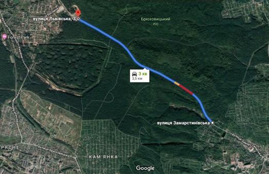 У Львові вимагають розширити дорогу з Замарстинівської до Брюхович