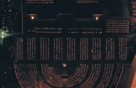 У Львові Личаківське кладовище зняли з висоти пташиного польоту