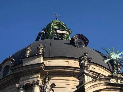 У Львові вкрали ще невстановлені елементи з Домініканського собору