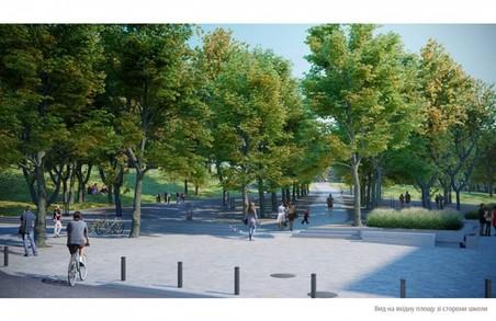 Львівський парк реконструюватимуть 10 років