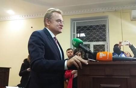 Вважаю, що рішення позитивне для мене: Садовий прокоментував рішення суду