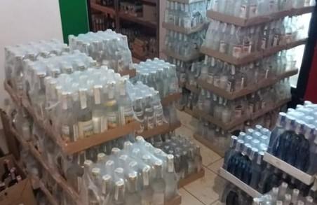 У Львові СБУ вилучила підробленої горілки на 1 000 000 гривень
