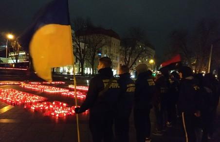 Активісти НК вшанували пам`ять жертв Голодомору