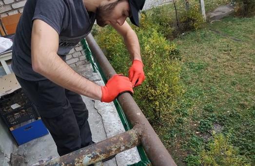 Активісти НК допомогли відремонтувати будинок для літніх людей