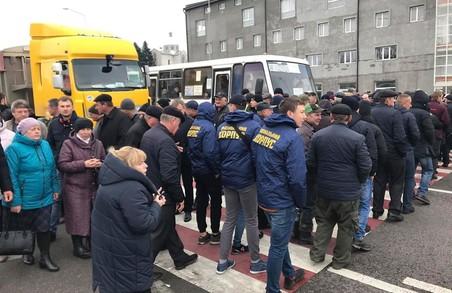 НК Львівщини долучився до протесту фермерів проти продажу землі