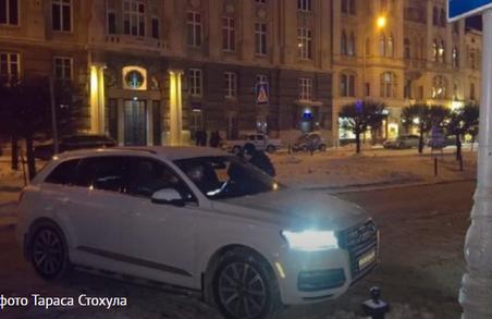 Львів`янин побив консула Бельгії за неправильно припарковане авто
