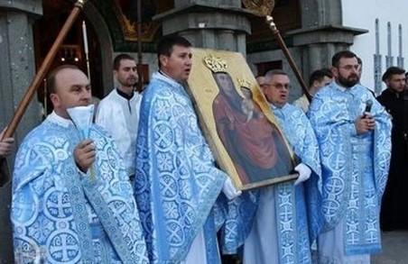 До Львова привезли чудотворну ікону