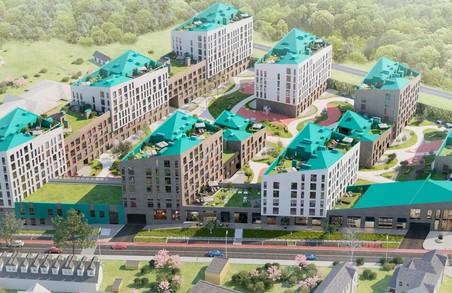 На території колишньої фабрики Бачевських збудують 26 багатоповерхівок