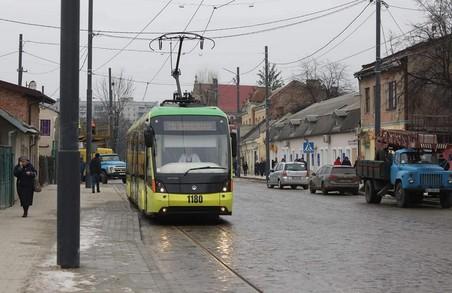 На Замарстинівській протестували рух трамваю (ФОТО)