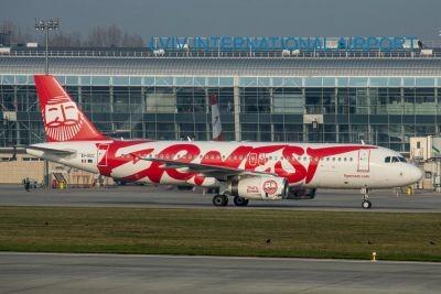 Зі Львова припинить польоти відомий італійський перевізник