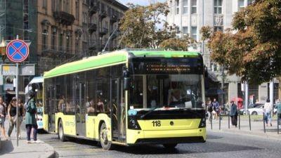 Маршрут львівського тролейбуса номер 33 змінено