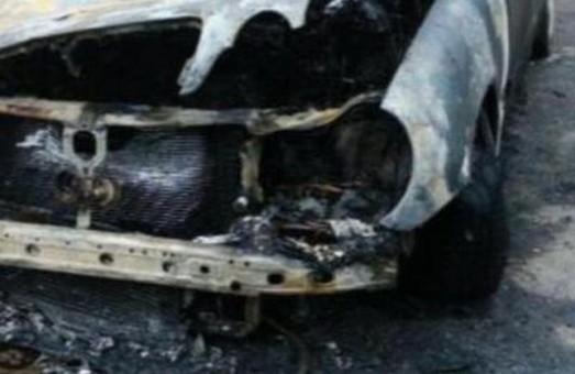 У Львові спалили авто «воєнкома»
