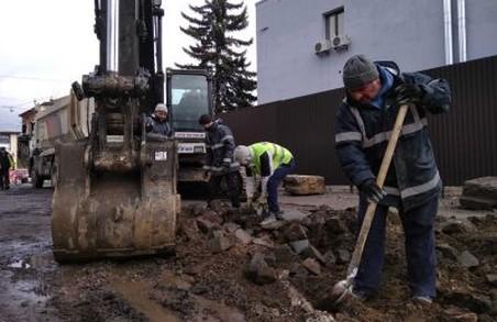 У Львові почали ремонт вулиці Шевченка