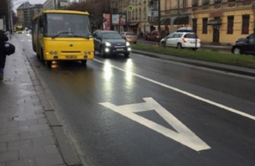 У Львові пропонують скасувати смуги громадського транспорту