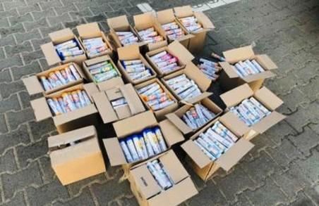 На Львівщині затримали чергову партію контрабанди