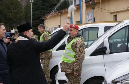 У Львові капелани поблагословили автомобілі для Військової служби правопорядку (ФОТО)