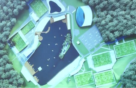 Біля Львова зведуть унікальний комплекс новітньої Академії футболу