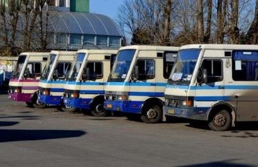 На Львівщині припиняють рух маршрутки
